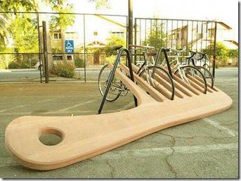 Fahrradständer Kamm